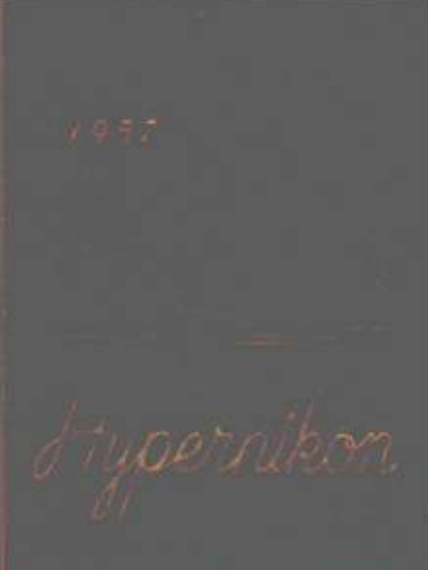 1957 GORDON COLLEGE DIVINITY SCHOOL HYPERNIKON Yearbook Massachusetts