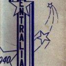 1940 Central High School Yearbook Kansas City Missouri