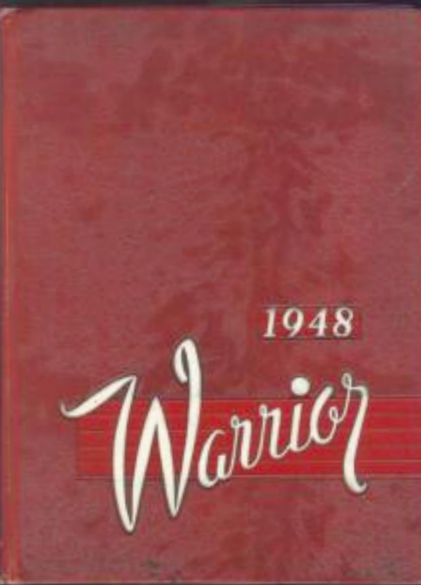 1948 Midland College Warrior Yearbook  Fremont Nebraska