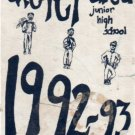 1993 Exeter AREA Jr Junior High School Yearbook Exeter New Hampshire