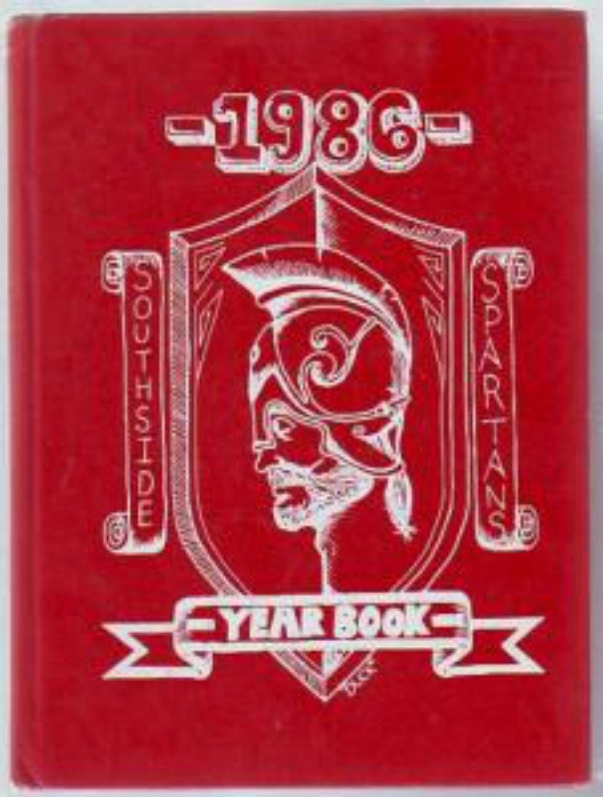 1986 southside jr junior high school spartans yearbook for Craft stores manchester nh
