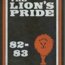 1983 Aycock Junior High School The Lion's Pride Yearbook Guilford North Carolina