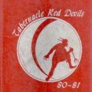 1981 Tabernacle Junior Jr High School Red Devils Yearbook Maysville North Carolina