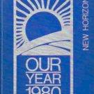 1980 Harris School K ~ 8 New Horizons Yearbook Harris North Carolina