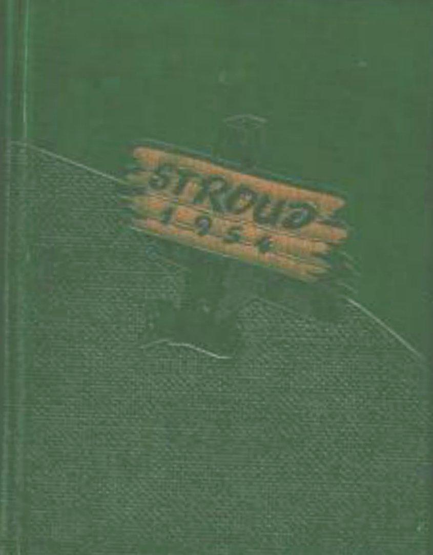 1954 East Stroudsburg State Teachers College Yearbook Pennsylvania