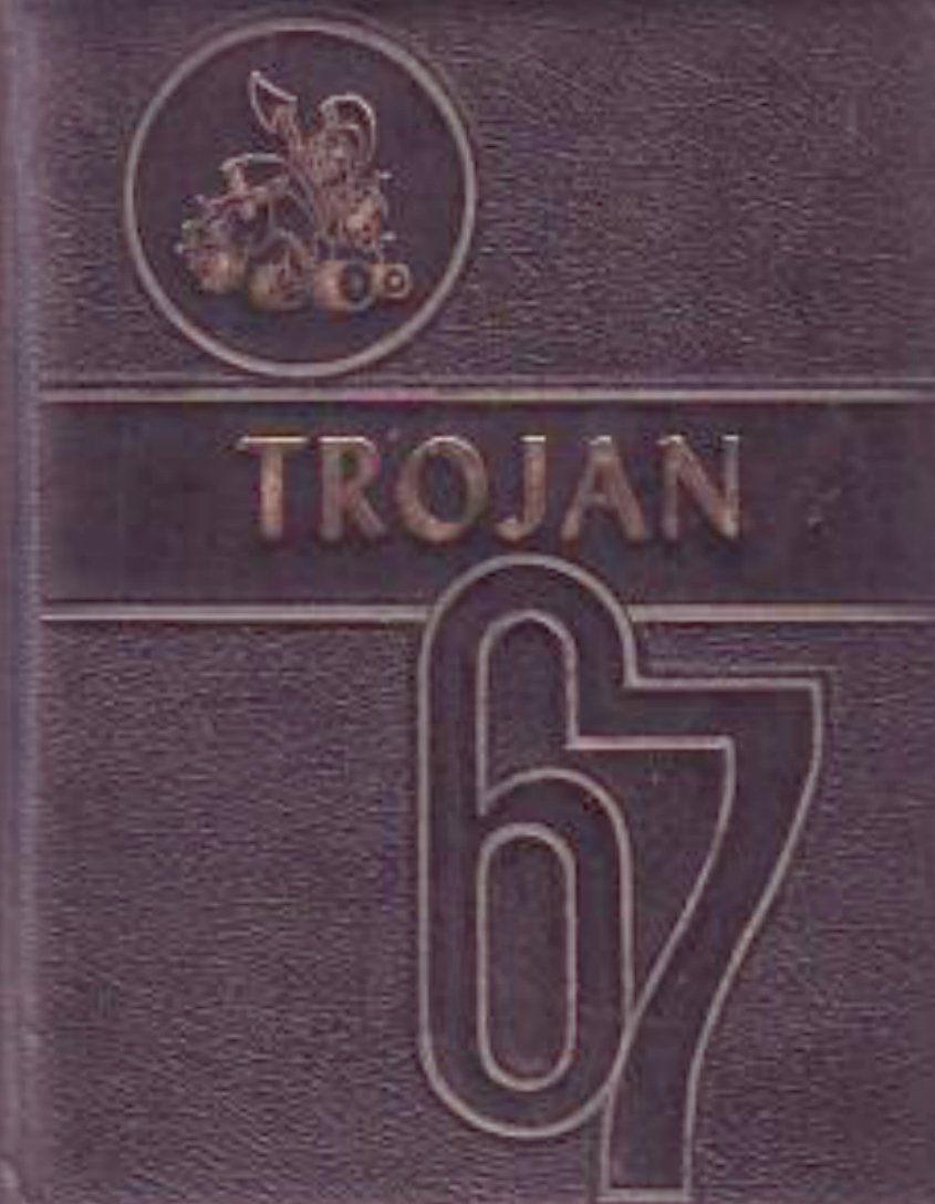 1967 Divide School Trojan Yearbook ~ Nolan Texas