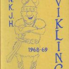 1969 North Kitsap Junior Middle High School Viking Yearbook Washington
