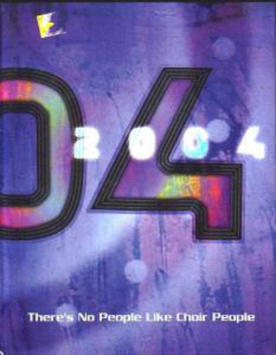 2004 MARCOS DE NIZA High School Choirs Yearbook Tempe