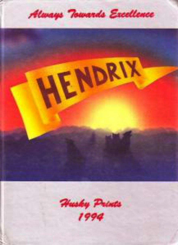 1994 Hendrix Junior High School Yearbook ~ Chandler AZ