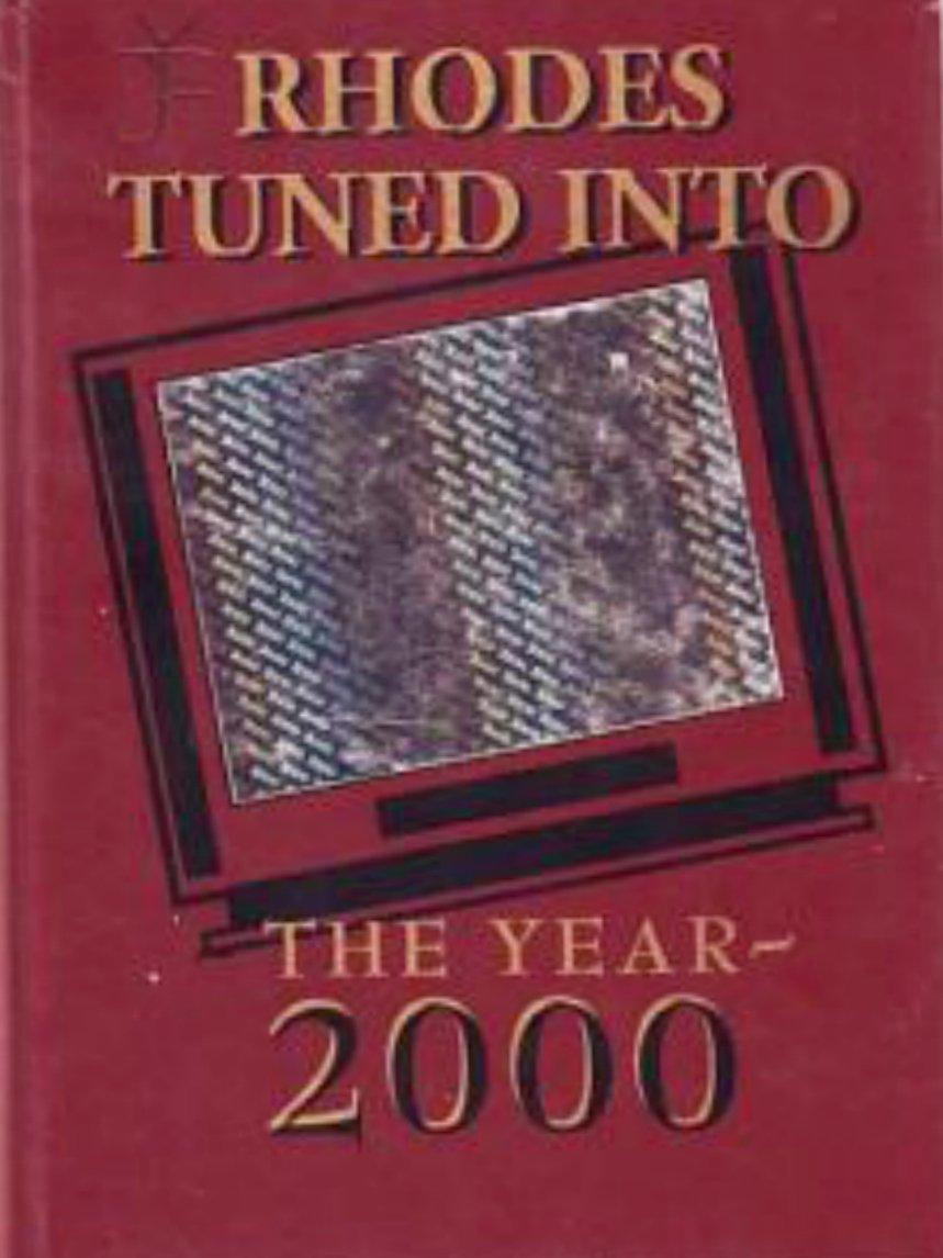 2000 Rhodes Junior High School Yearbook Mesa Arizona