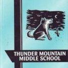 2000 Thunder Mountain Middle School Coyotes Yearbook Arizona