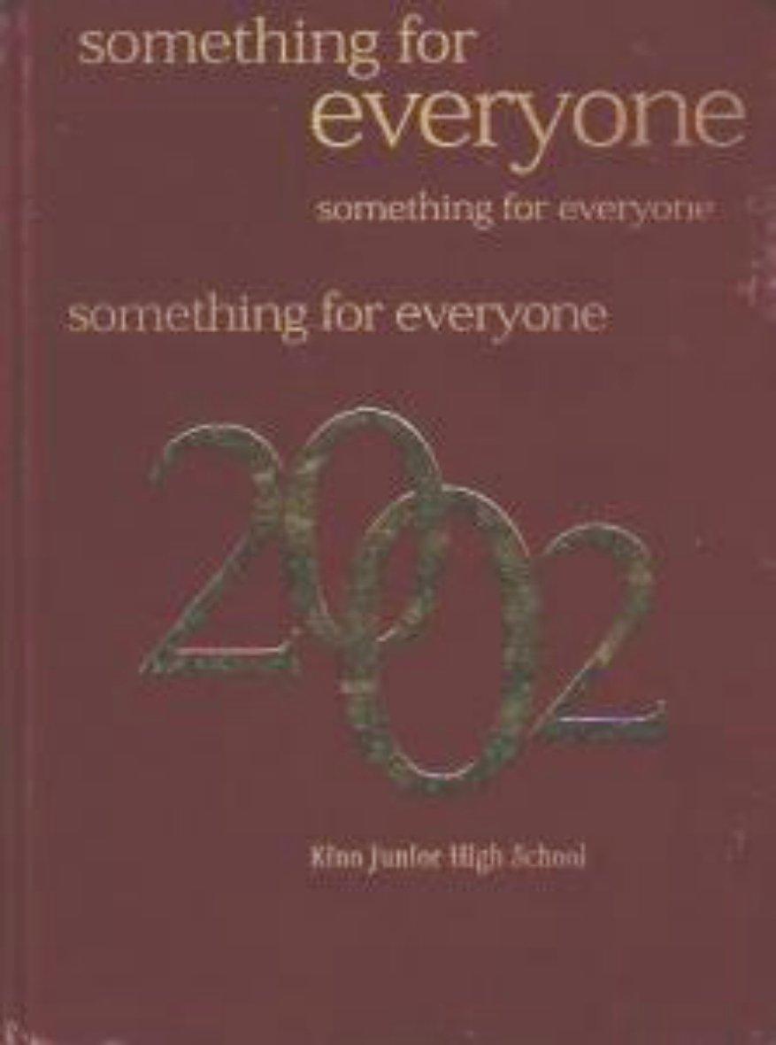 2002 Kino Junior High School Yearbook Mesa Arizona