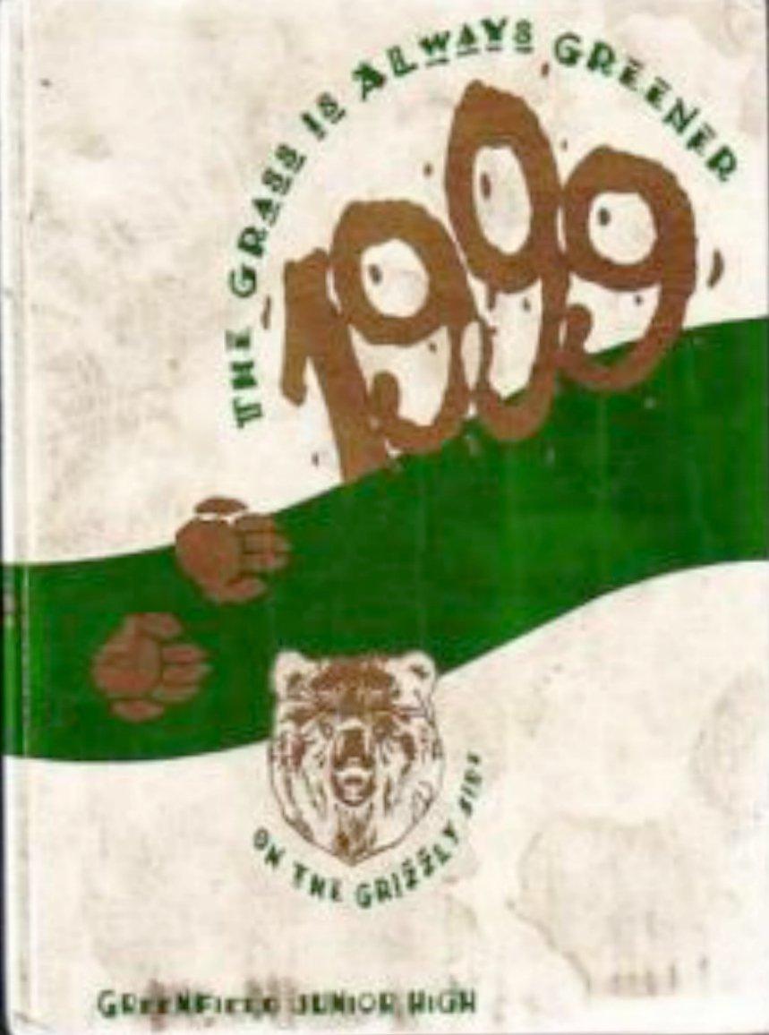 1999 Greenfield Junior High School Yearbook Gilbert