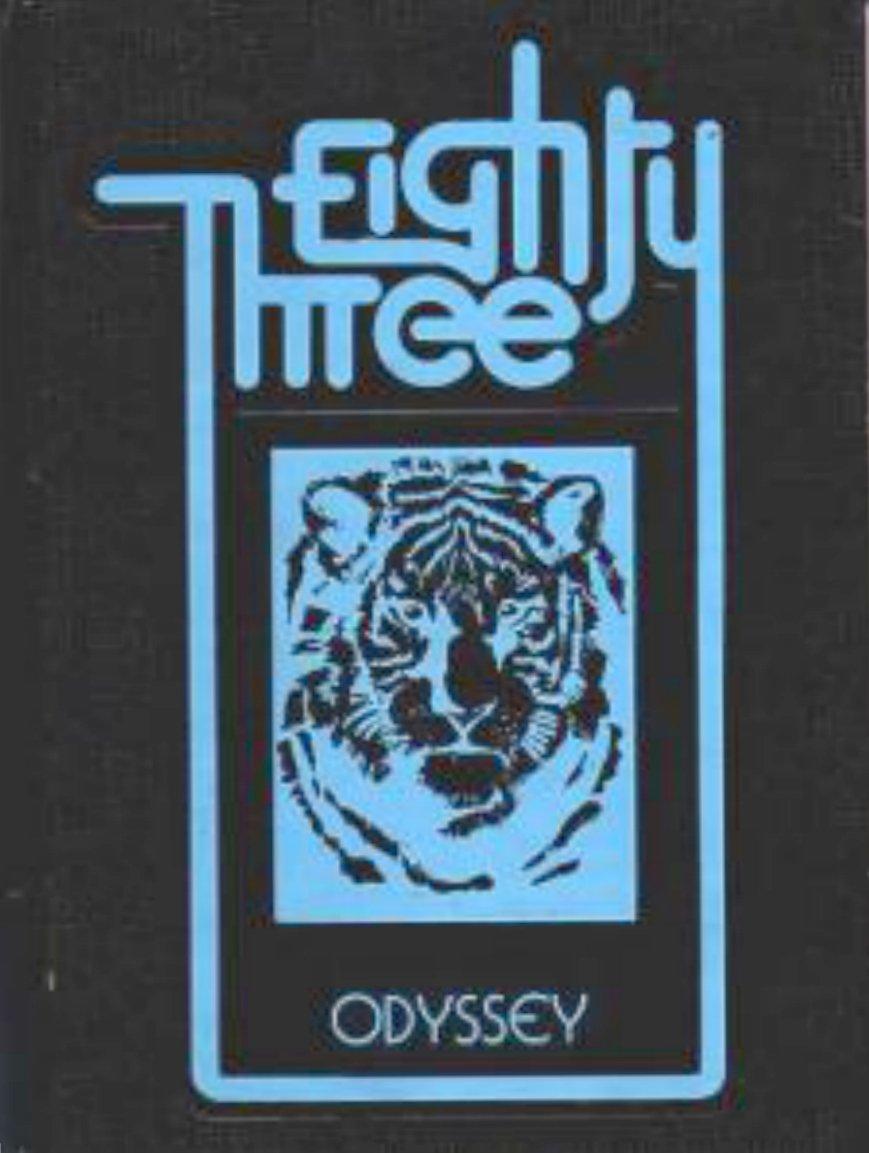 1983 Gilbert Junior High School Yearbook ~ Gilbert  AZ