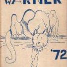 1972 Warner Intermediate School Wildcat Yearbook Westminister California