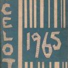 1965 Warner Intermediate School Ocelot Yearbook Westminister California