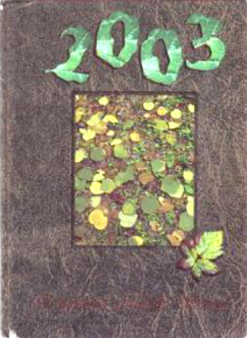 2003 Edgewood Middle School Yearbook West Covina Calif