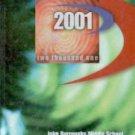 2001 John Burroughs Middle School Yearbook Los Angeles California