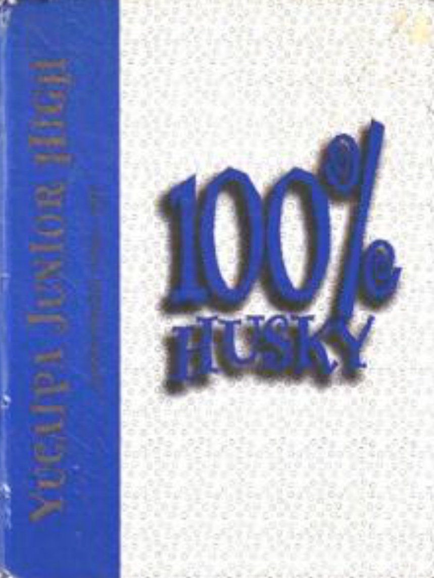 1998 Yucaipa Junior High School Iditarod Yearbook Calif