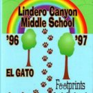1997 Lindero Canyon Middle School Yearbook Agoura Hills