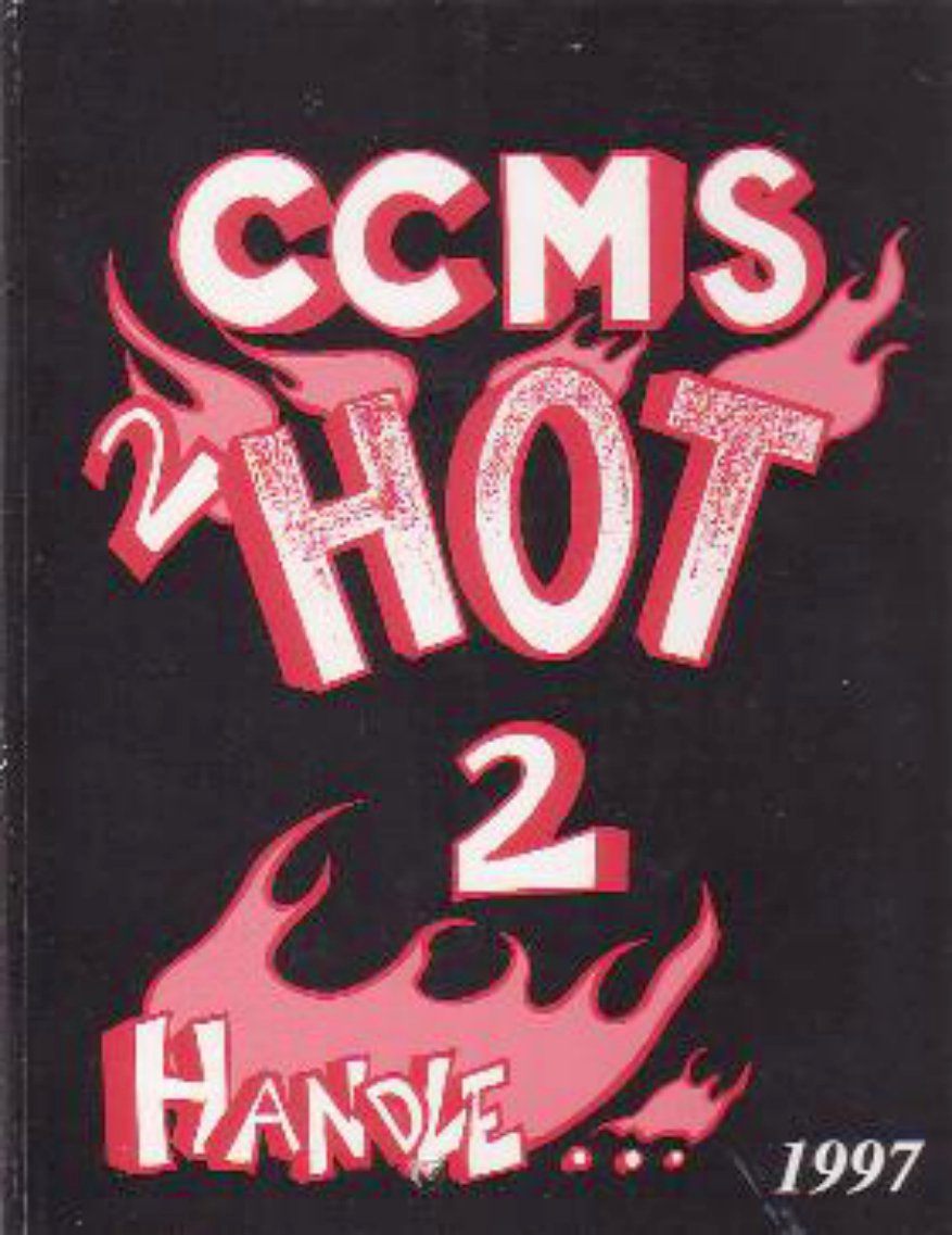 1997 Cesar Chavez Middle School Yearbook Union City