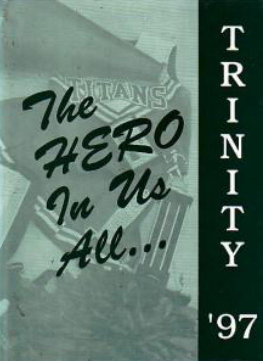 1997 Trinity Lutheran Christian School Yearbook Anaheim