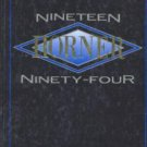 1994 Horner Jr Junior High School Yearbook Fremont California
