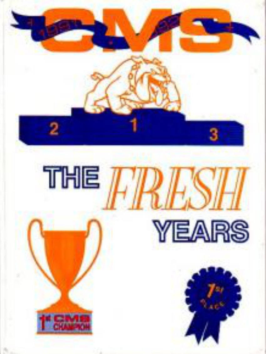 1992  CAMPBELL MIDDLE SCHOOL YEARBOOK CAMPBELL  CALIF