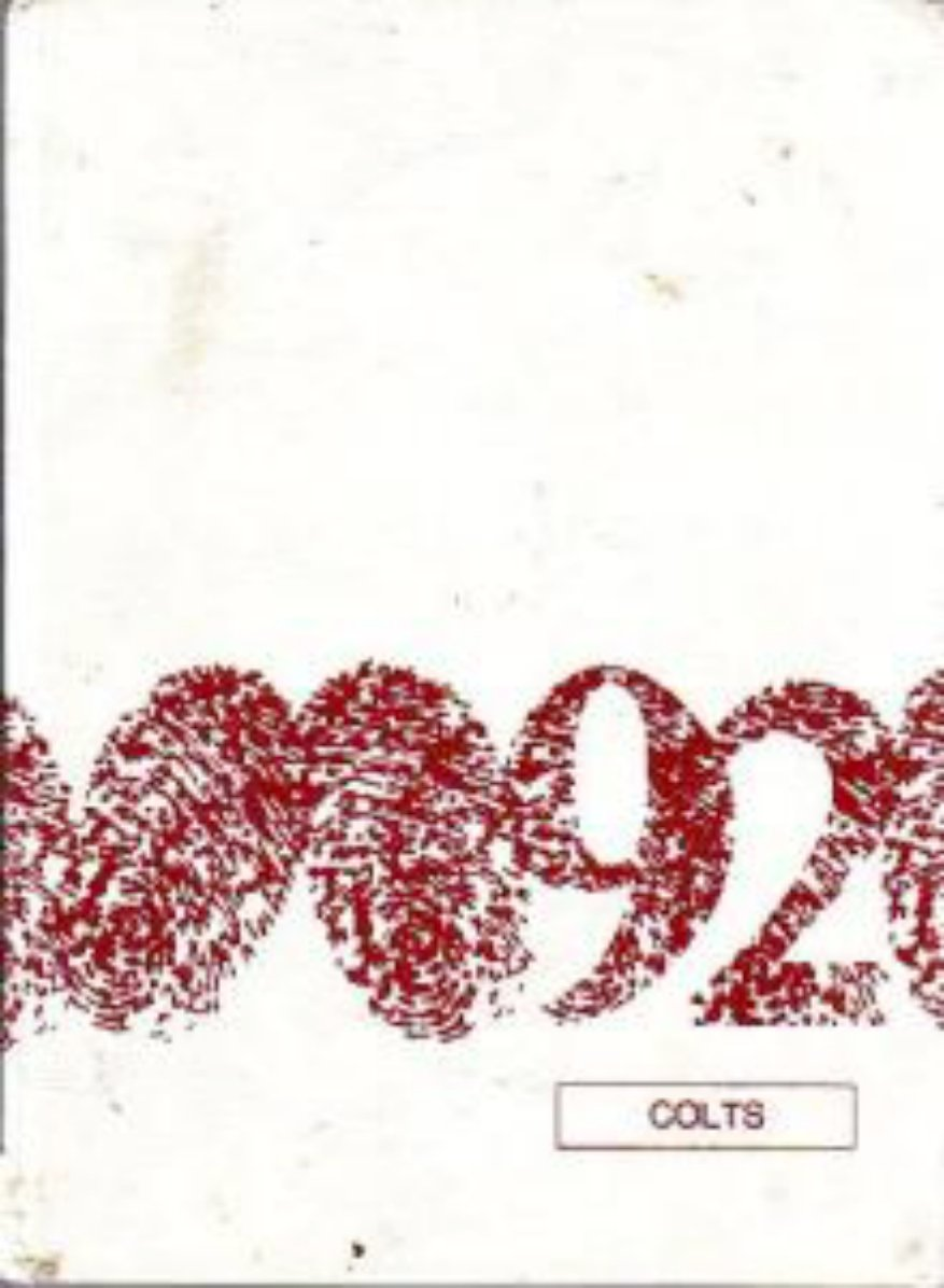 1992 Susan B Coombs Intermediate School Colts Yearbook