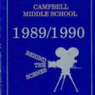 1990  CAMPBELL MIDDLE SCHOOL YEARBOOK CAMPBELL  CALIF