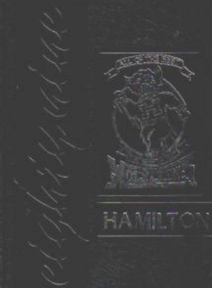 1989  Hamilton Junior High School Yearbook ~ Long Beach