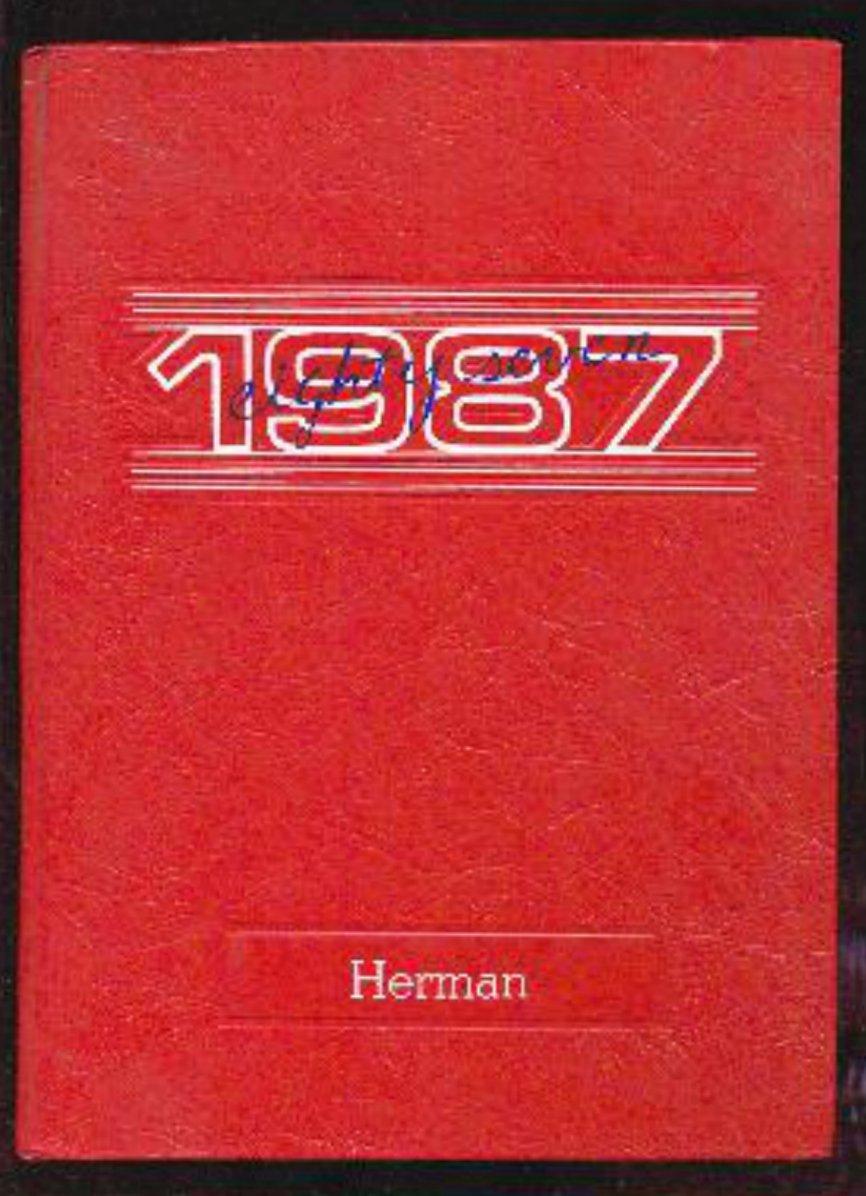 1987 Herman Intermediate School Yearbook~ San Jose Cal