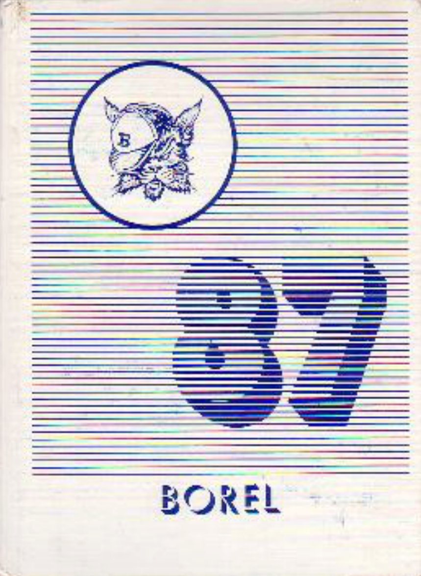1987 Borel Middle School Yearbook  San Mateo California