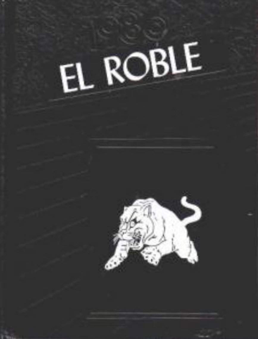 1986 EL ROBLE JR HIGH SCHOOL YEARBOOK CLAREMONT CALIF