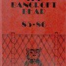 1986 Bancroft Jr Junior High School Bear Yearbook Long Beach California