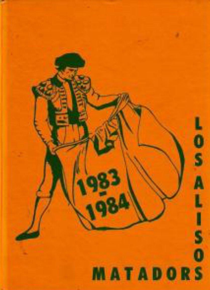 1984 Los Alisos Intermediate School Yearbook Calif