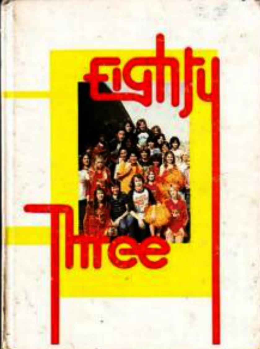 1983 Joseph George Intermediate School Yearbook ~ Calif