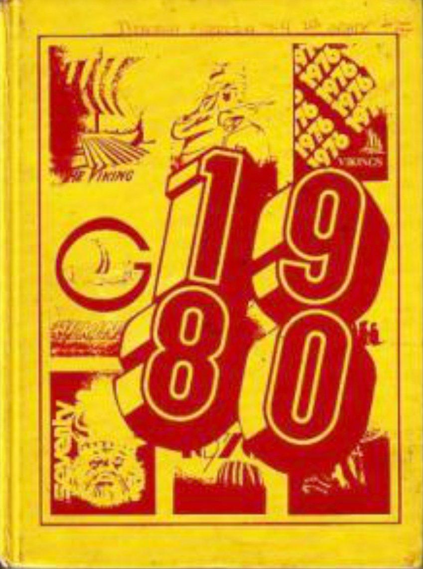 1980 Joseph George Intermediate School Yearbook ~ Calif