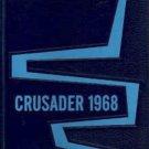 1968 Crescent Junior High School Yearbook Buena Park