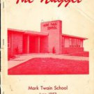 1953 Mark Twain School Yearbook Modesto California