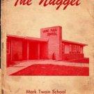 1954 Mark Twain School Yearbook Modesto California