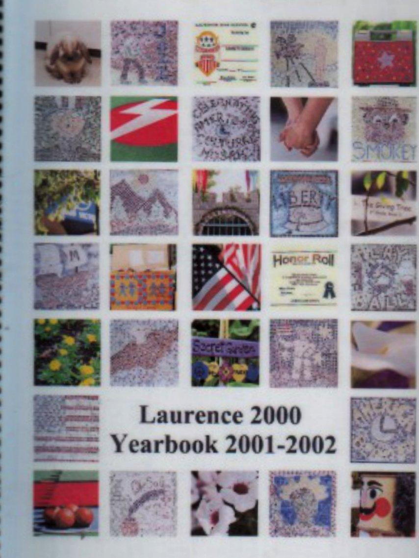 2002 Laurence School Yearbook Independent K~6 Private School Valley Glen California