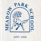 1998 Meadow Park Elementary School Mustang Yearbook  Irvine California