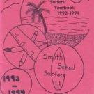 1994 Agnes Smith Elementary School Surfers Yearbook Huntington Beach California