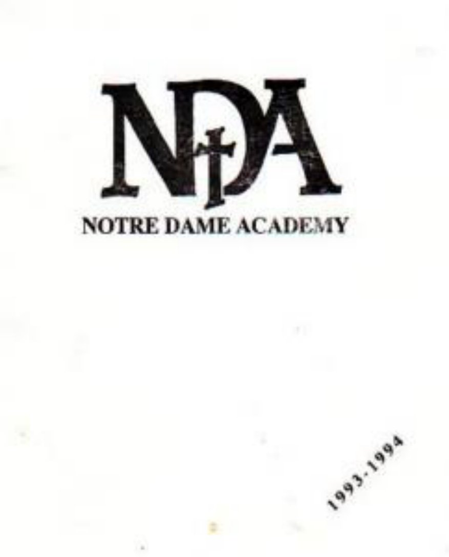 1994 Notre Dame Academy Yearbook Los Angeles California
