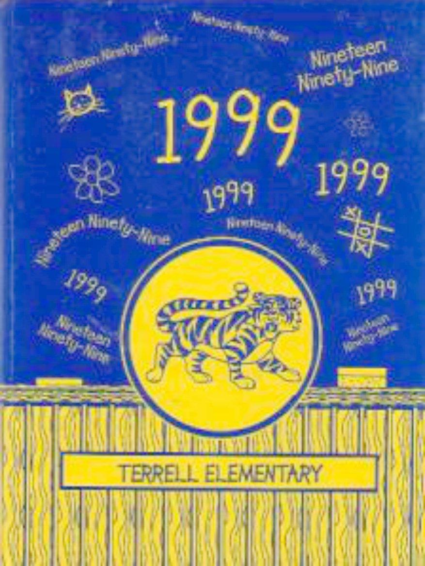 1999 Terrell Elementary School Yearbook San Jose Calif