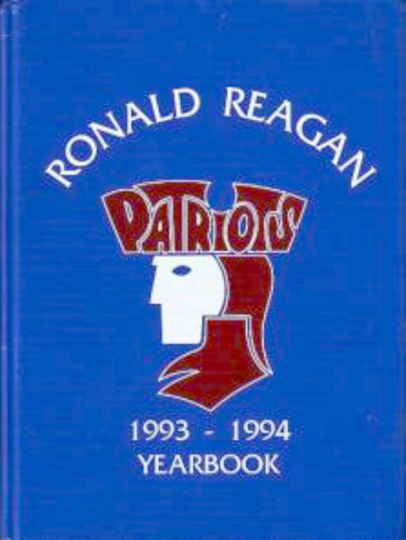 1994 Ronald Reagan Fundamental Elementary Yuma Yearbook