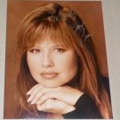 Sexy Pia Zadora Signed Color 8 x 10 Photograph ( TO Andy + Richard, Love Pia in gold paint pen ink )