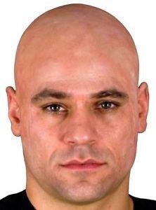 Bald Head Cap Woochie Professional Latex Appliance Beige Cinema Secrets
