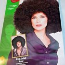 Adults Large Oversized Black Afro Costume 70s Pimp Wig